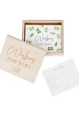 Ginger Ray Botanical Hey Baby Wishes Kaarten Herinneringsbox