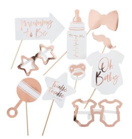 Ginger Ray Twinkle Twinkle Photo Booth Props