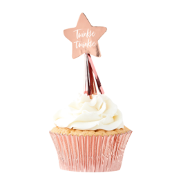 Ginger Ray Twinkle Twinkle  Cupcake Toppers