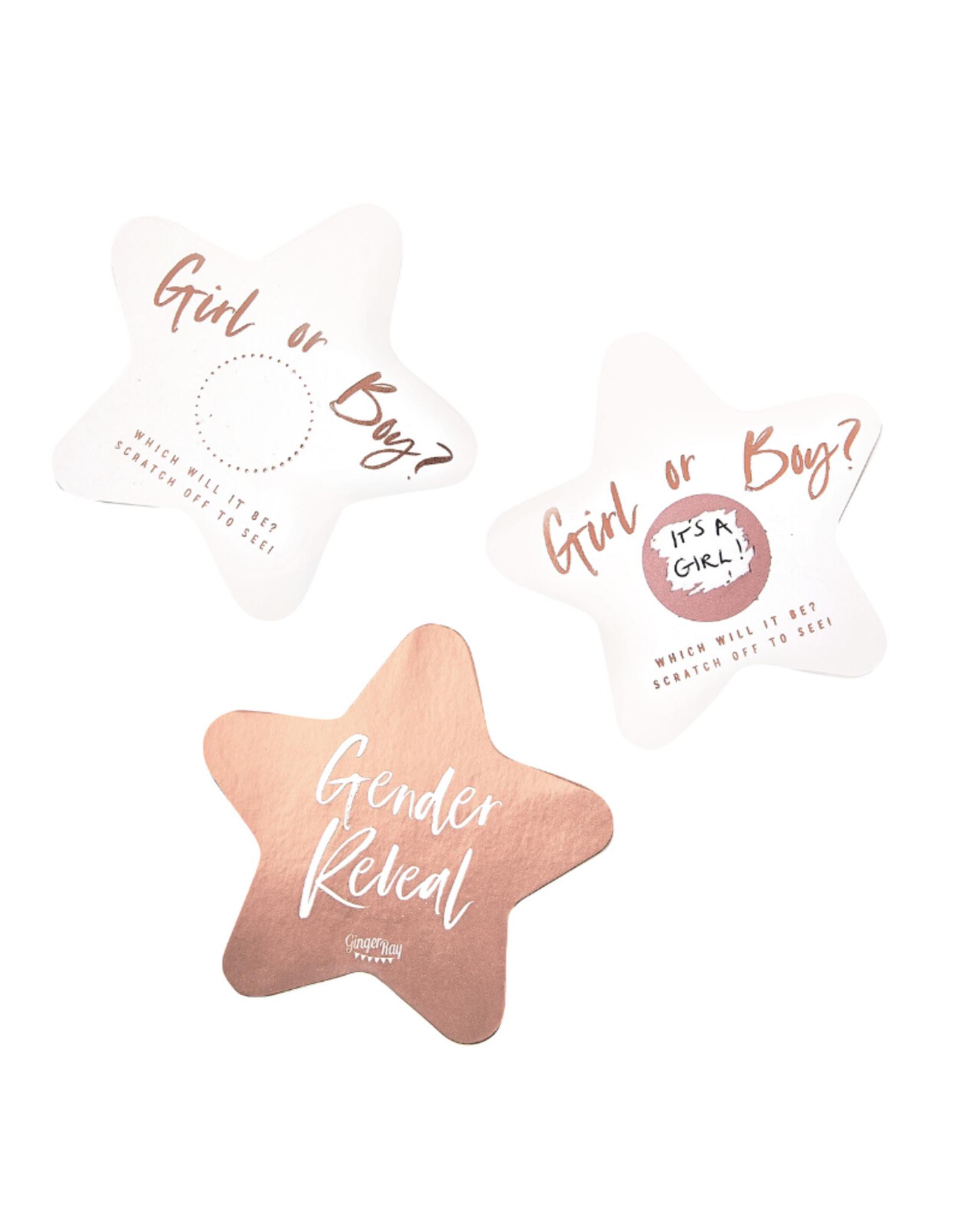 Ginger Ray Twinkle Twinkle Kraskaarten Rosé Goud
