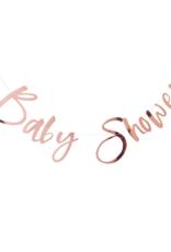 Ginger Ray Twinkle Twinkle Baby Shower Slinger Rosé Goud