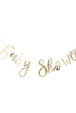 Ginger Ray Oh Baby! Baby Shower Slinger Goud