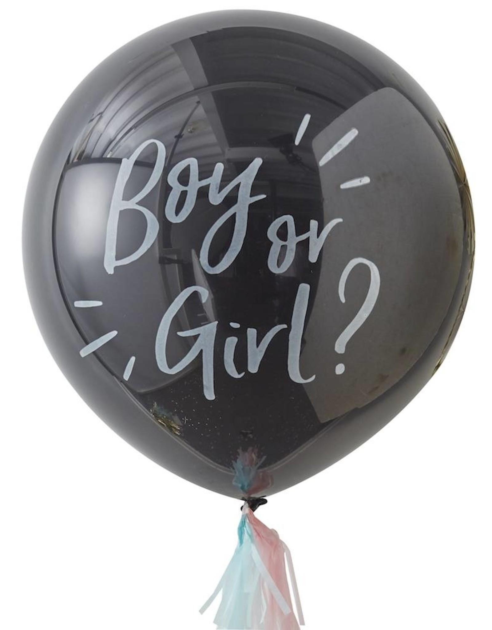Ginger Ray Oh Baby! Ballon Gender Reveal