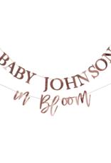 Ginger Ray Baby in Bloom Slinger Personaliseerbaar Baby Shower