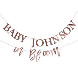 Ginger Ray Baby in Bloom Slinger Personaliseerbaar