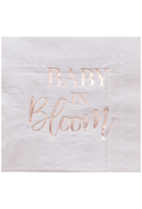 Ginger Ray Baby in Bloom Floral Servetten
