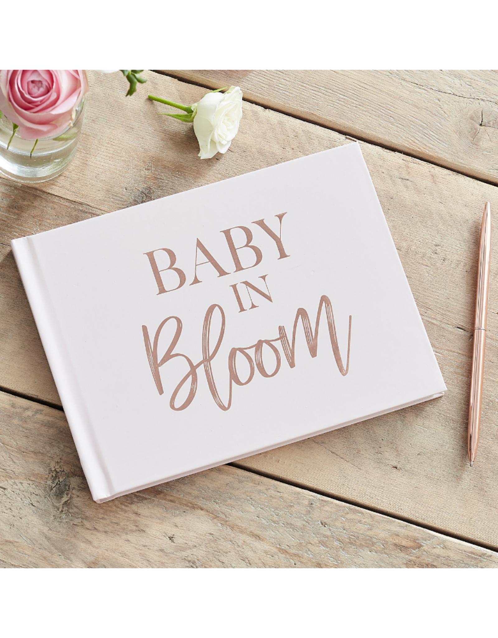 Ginger Ray Baby In Bloom Gastenboek Rosé