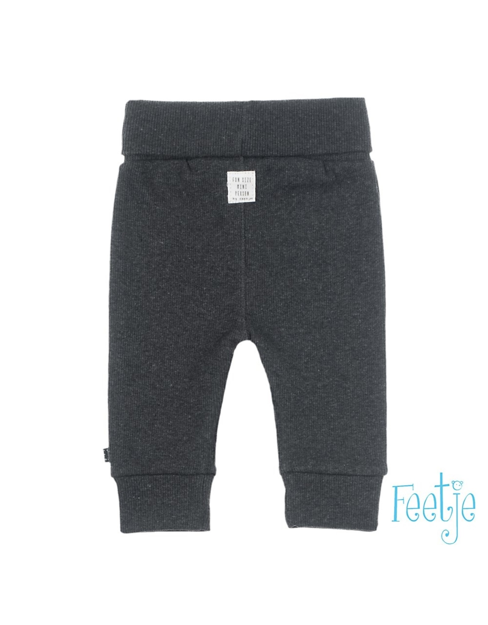 Feetje Broek - Mini Person Antraciet