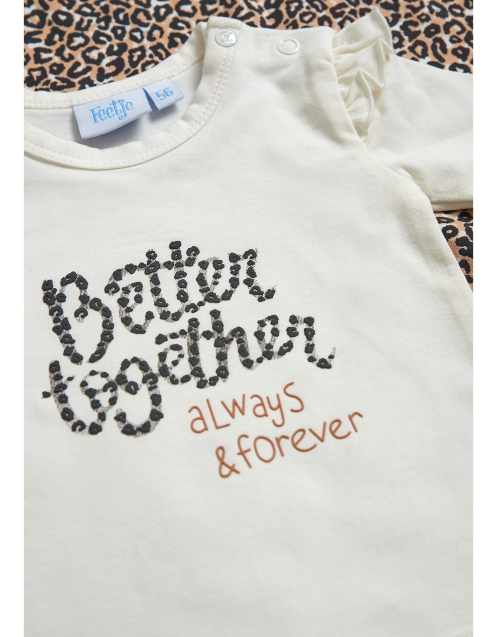 Feetje Longsleeve - Better Together Offwhite