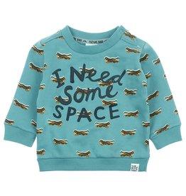 Feetje Sweater I Need - Spacelab Jade Groen