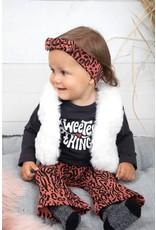 Feetje Longsleeve Sweetest - Zebra Antraciet