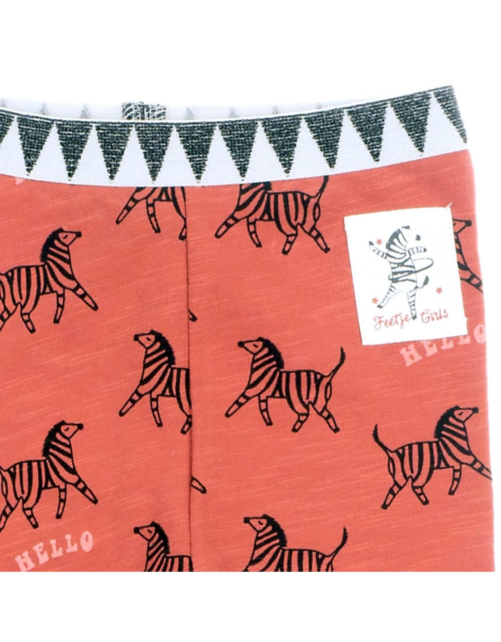 Feetje Legging AOP - Zebra