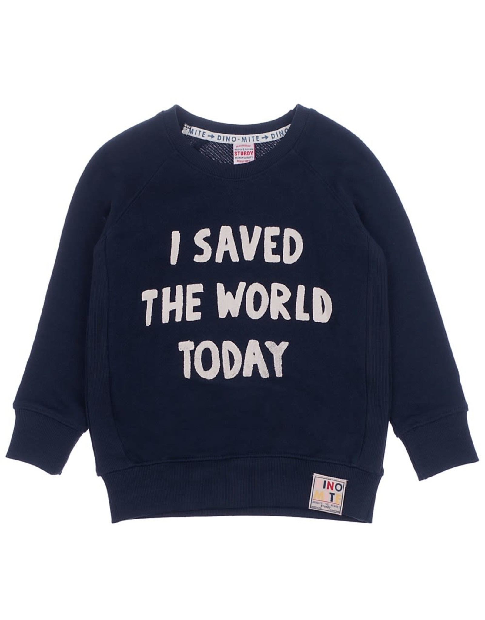 Sturdy Sweater I Saved - Dino-mite