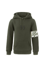 Malelions Junior Hoodie Captain Green - Light Army