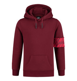 Malelions Junior Hoodie Captain Bordeaux
