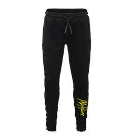 Malelions Junior Trackpants Signature Black - Yellow
