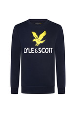 Lyle & Scott BOYS LYLE EAGLE LOGO LB CREW SWEAT 203 NAVY BLAZER