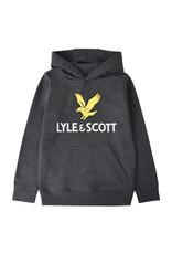 Lyle & Scott BOYS LYLE EAGLE LOGO LB OTH HOODIE 521 GREY