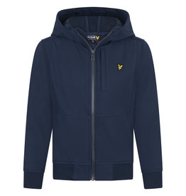 Lyle & Scott BOYS SOFT SHELL JACKET 203 NAVY BLAZER