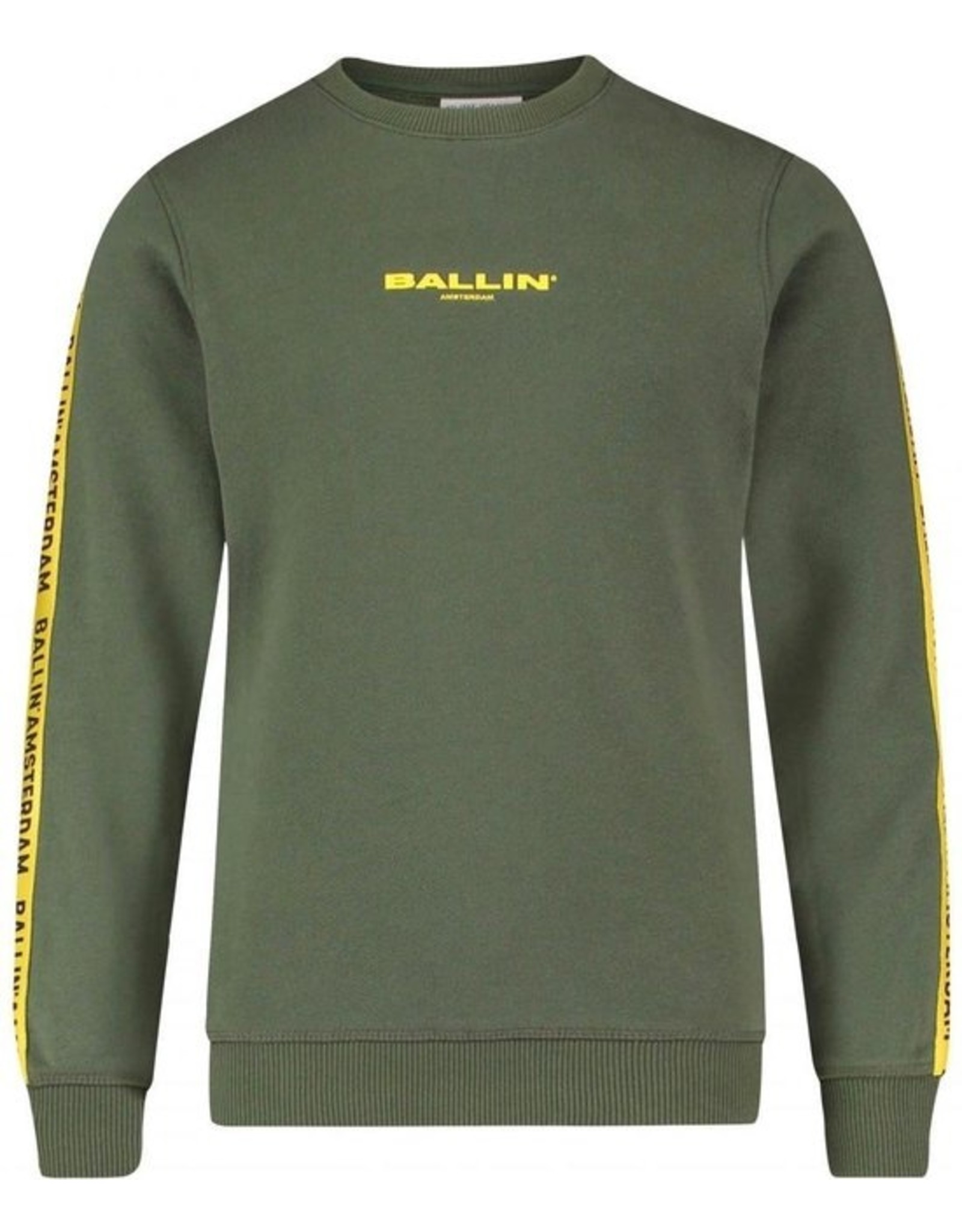 Ballin Amsterdam Sweater Army Camo