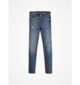 Guess Jeans High Waist Skinny Jeans Blauw