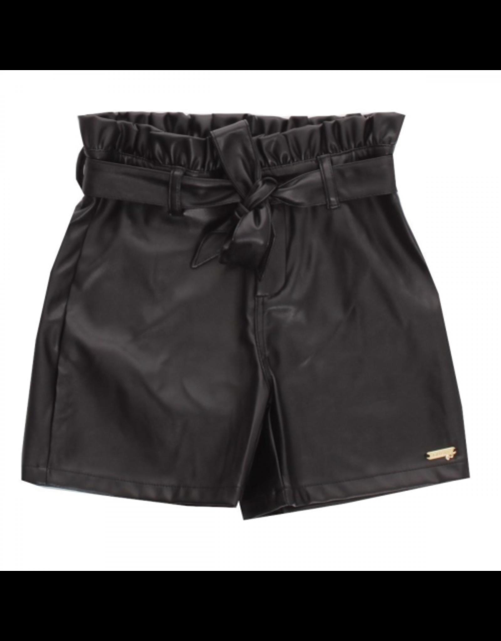 Guess Short Leatherlook Zwart