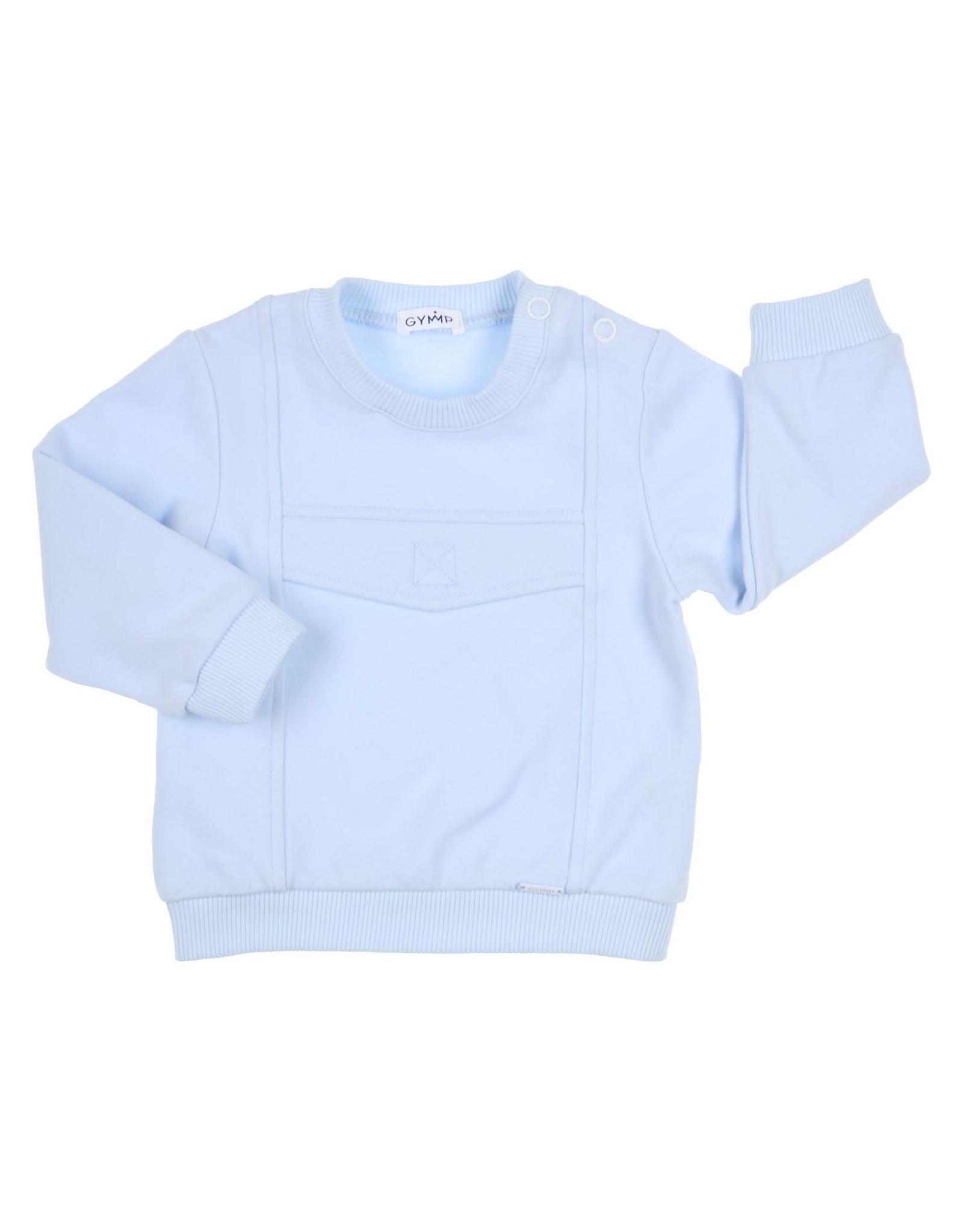 Gymp Sweater Lichtblauw