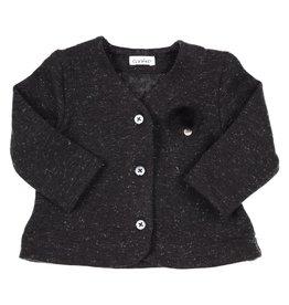 Gymp Vest Cardigan Zwart
