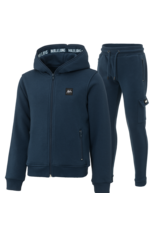 Malelions Junior Tracksuit Patch Blue - Navy