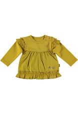 Bess Shirt l.sl. Ruffles Ocre
