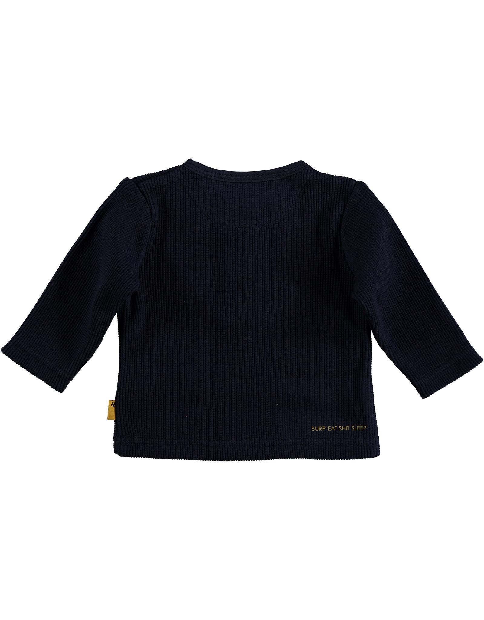 Bess Shirt l.sl. Waffle Navy