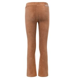 LOOXS 10sixteen Girls velvet rib flare pants camel