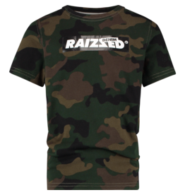 Raizzed T-shirt Hanno Camouflage Green