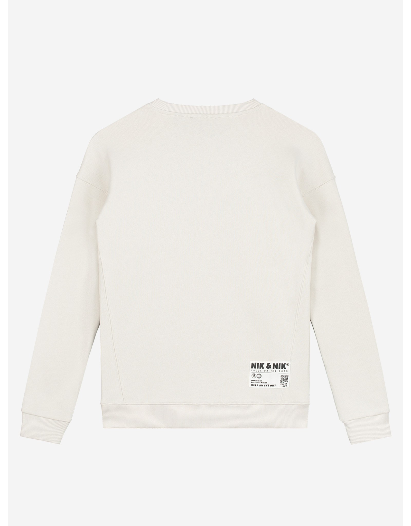Nik & Nik Milo Sweater Dusty White