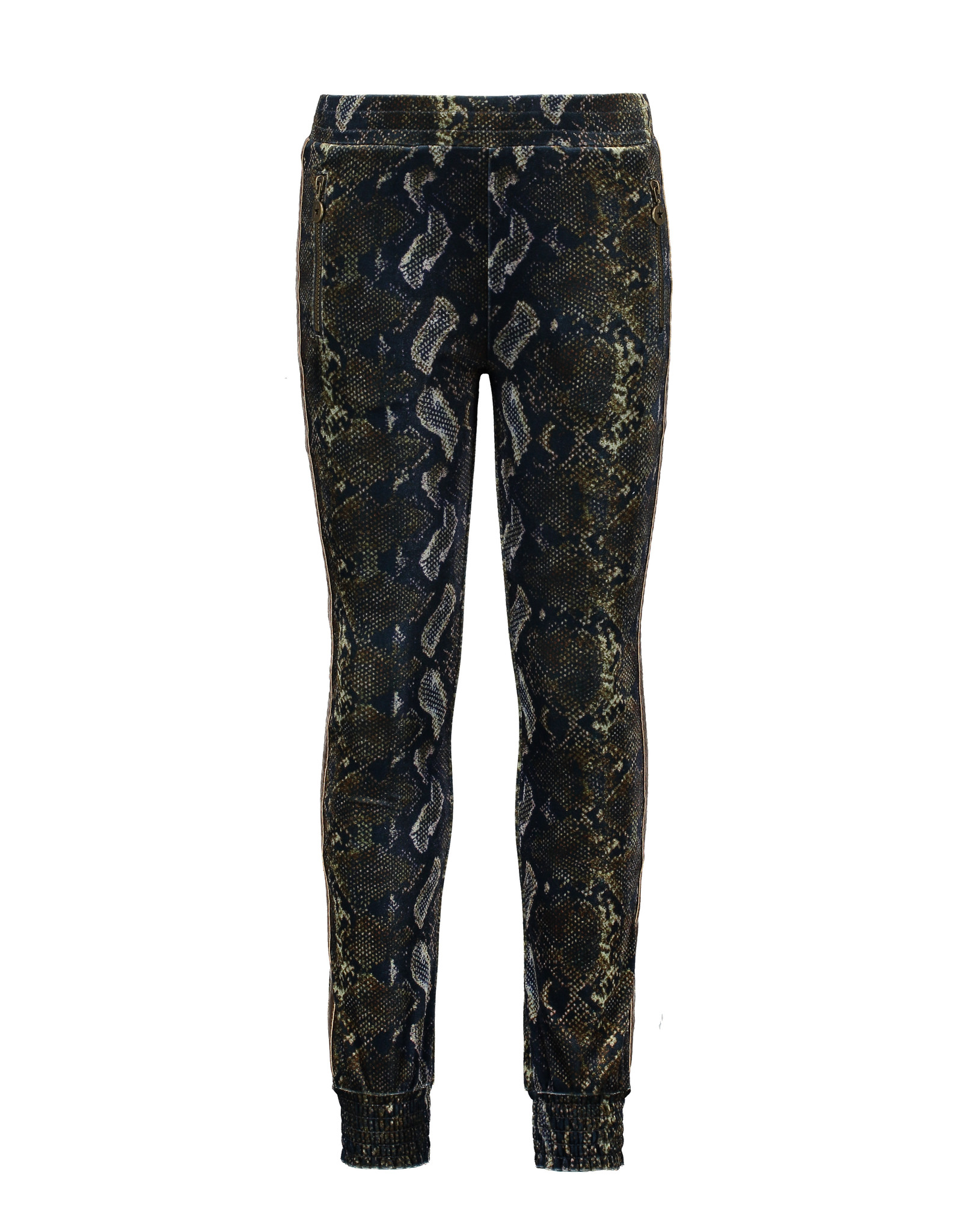 Like Flo girls AO velvet sporty pants Snake