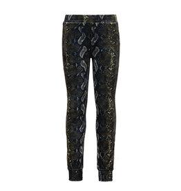 Like Flo girls AO velvet sporty pants Snake