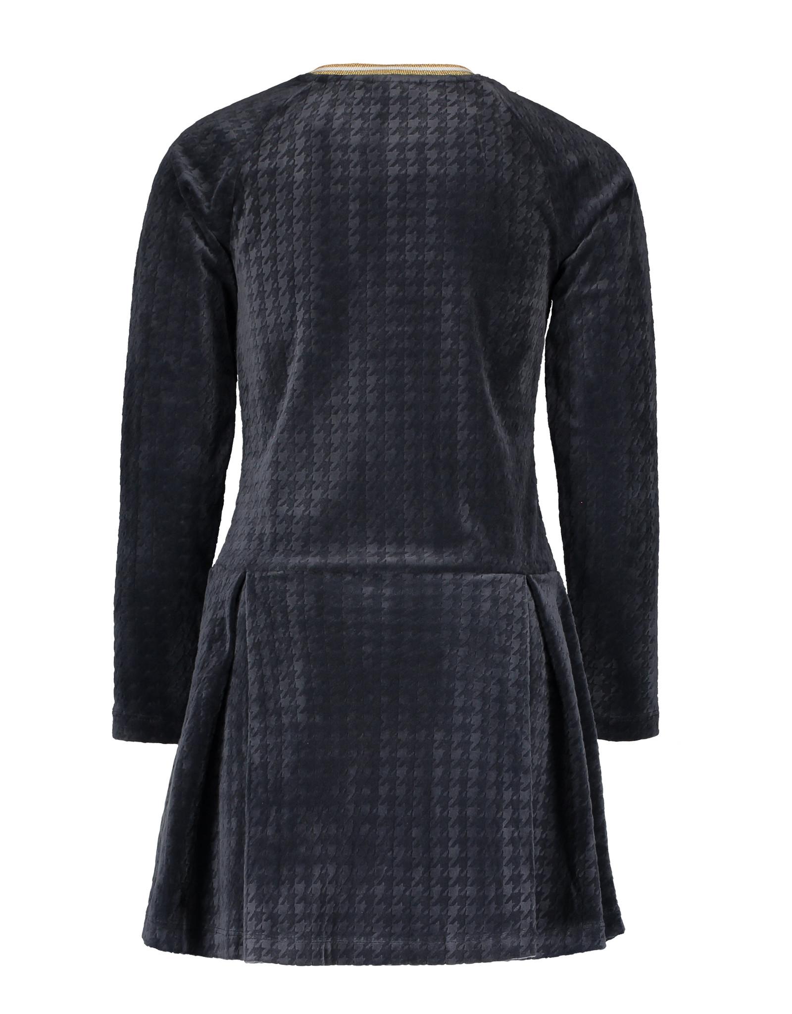 Like Flo girls PDP relief dress Navy