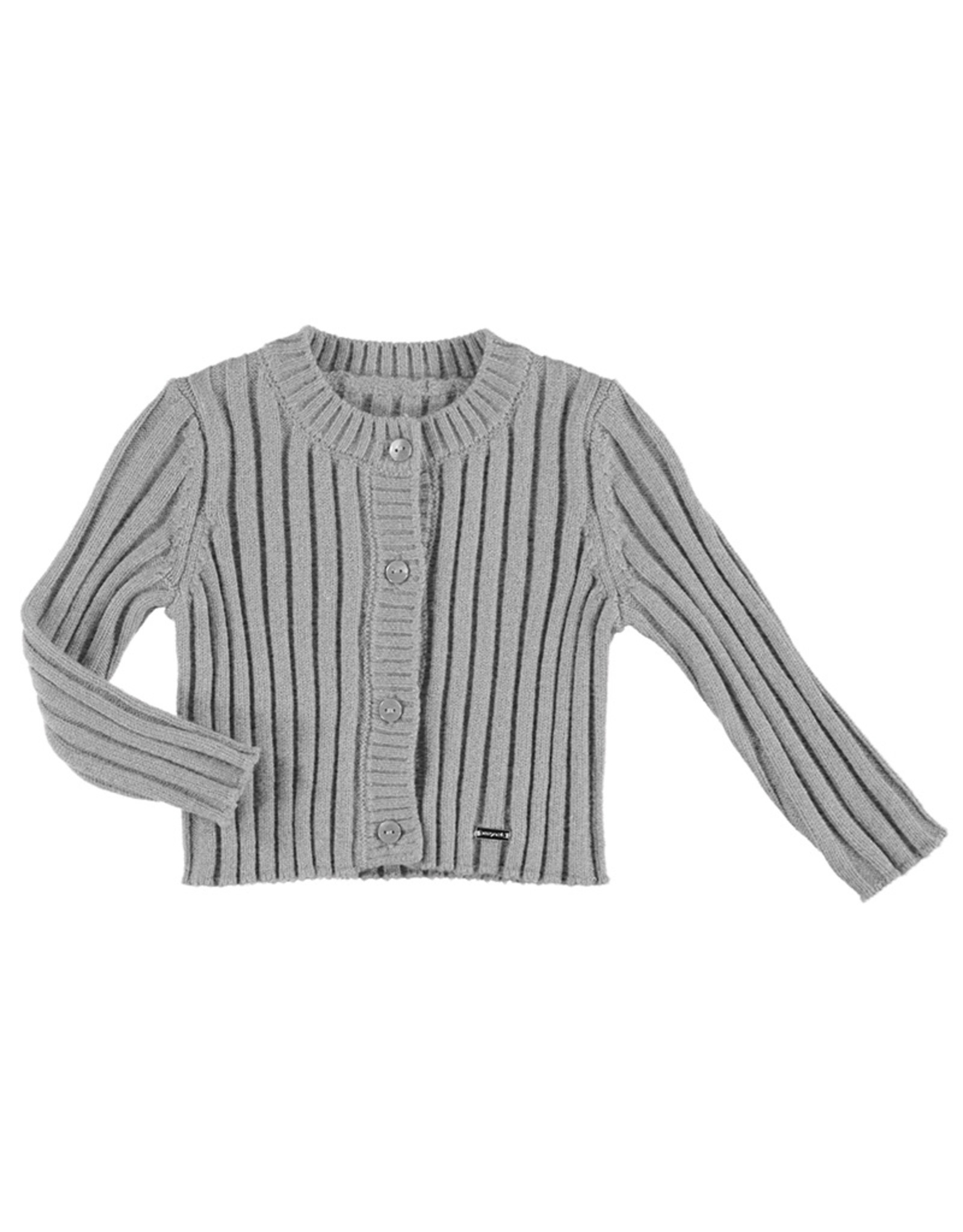 Mayoral Knitted cardigan Silver