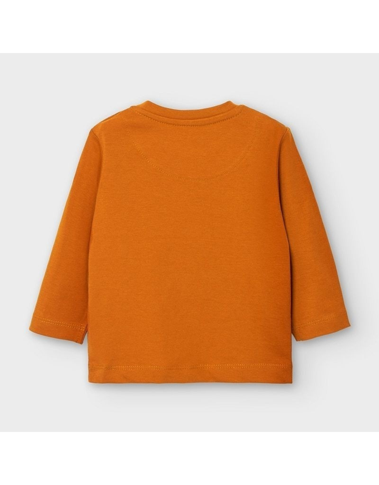 Mayoral L/s basic t-shirt Cheddar