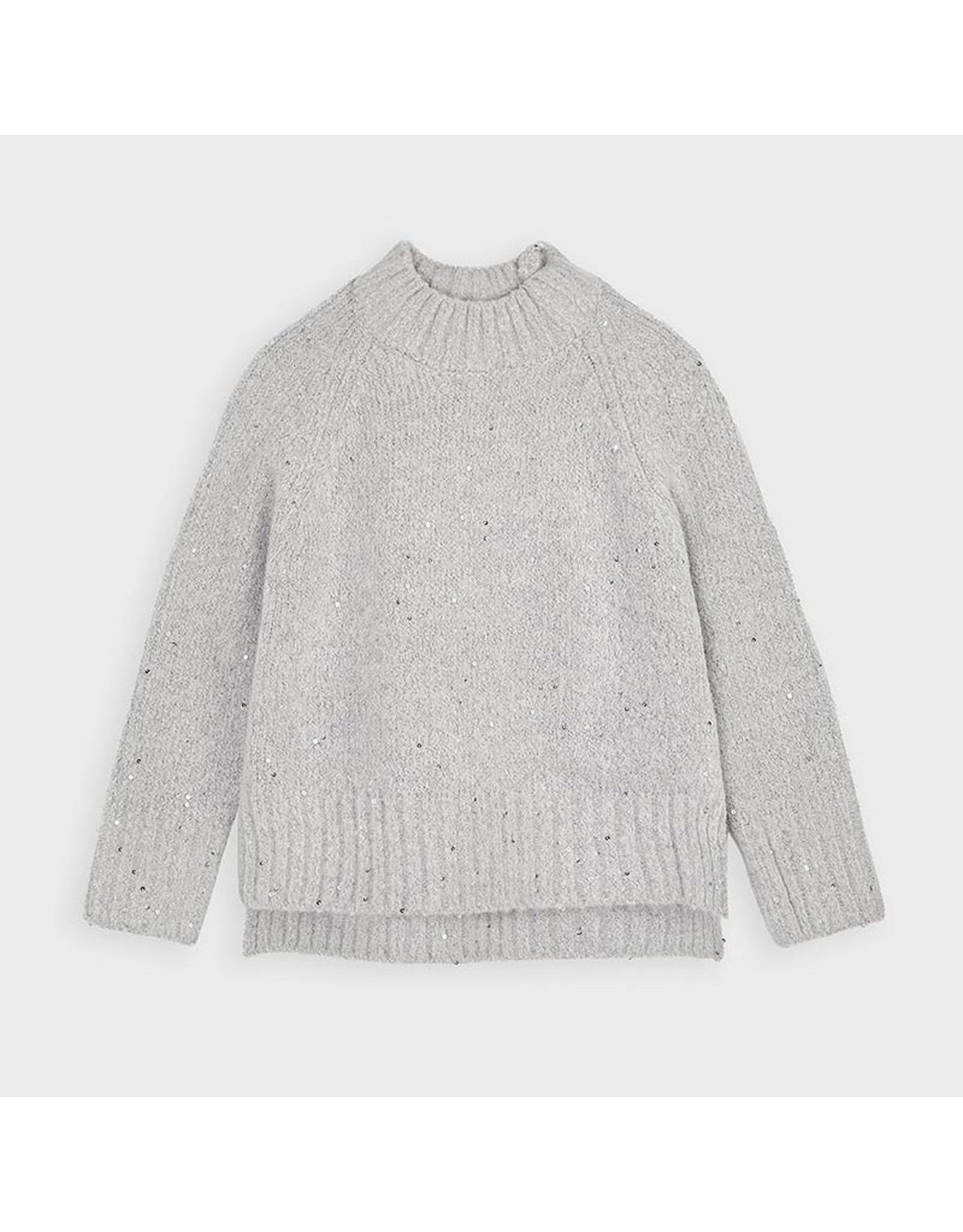 Mayoral Sequins sweater Steel