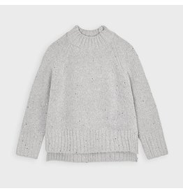 Mayoral Sequins sweater Steel