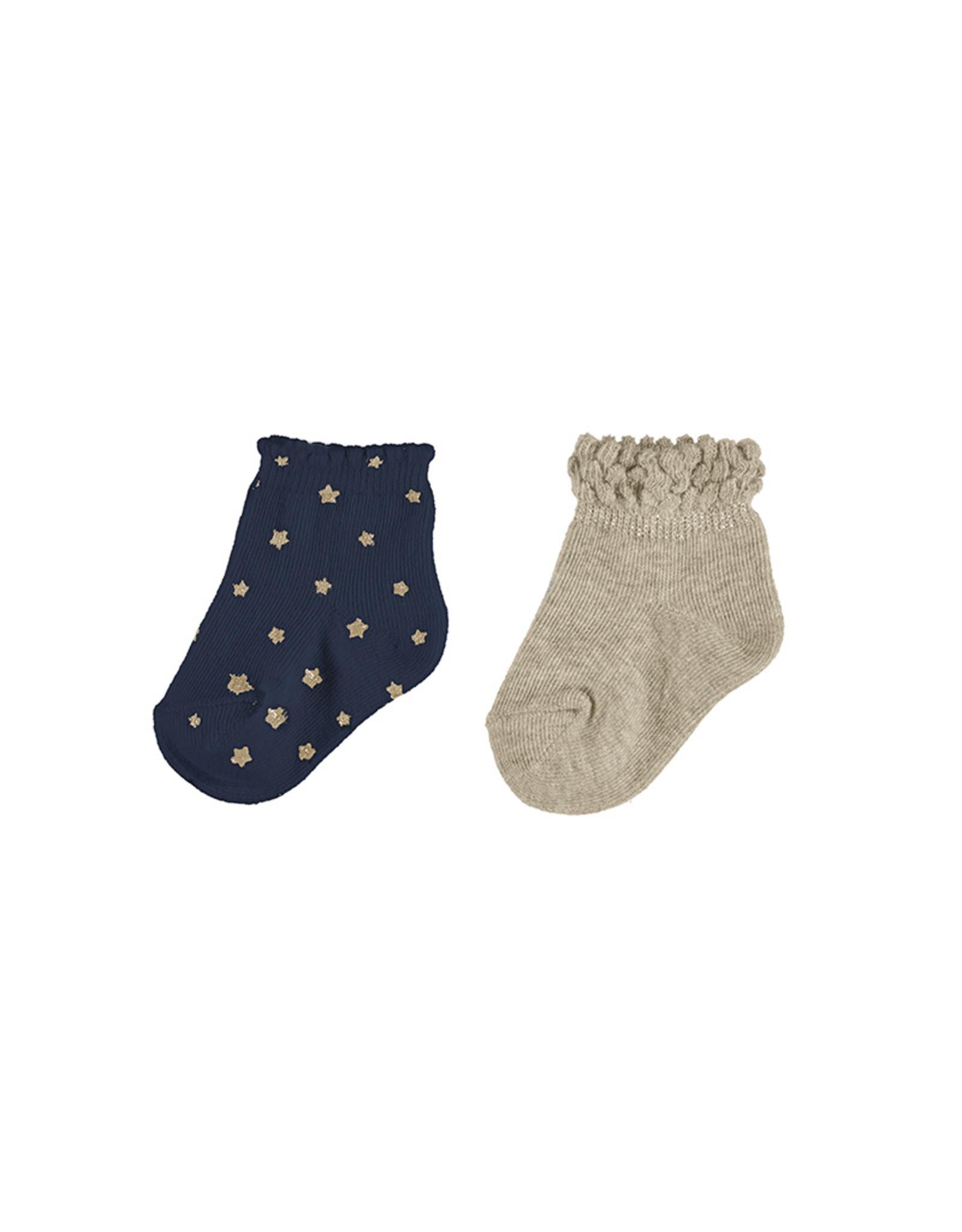 Mayoral 2 socks set Midnight