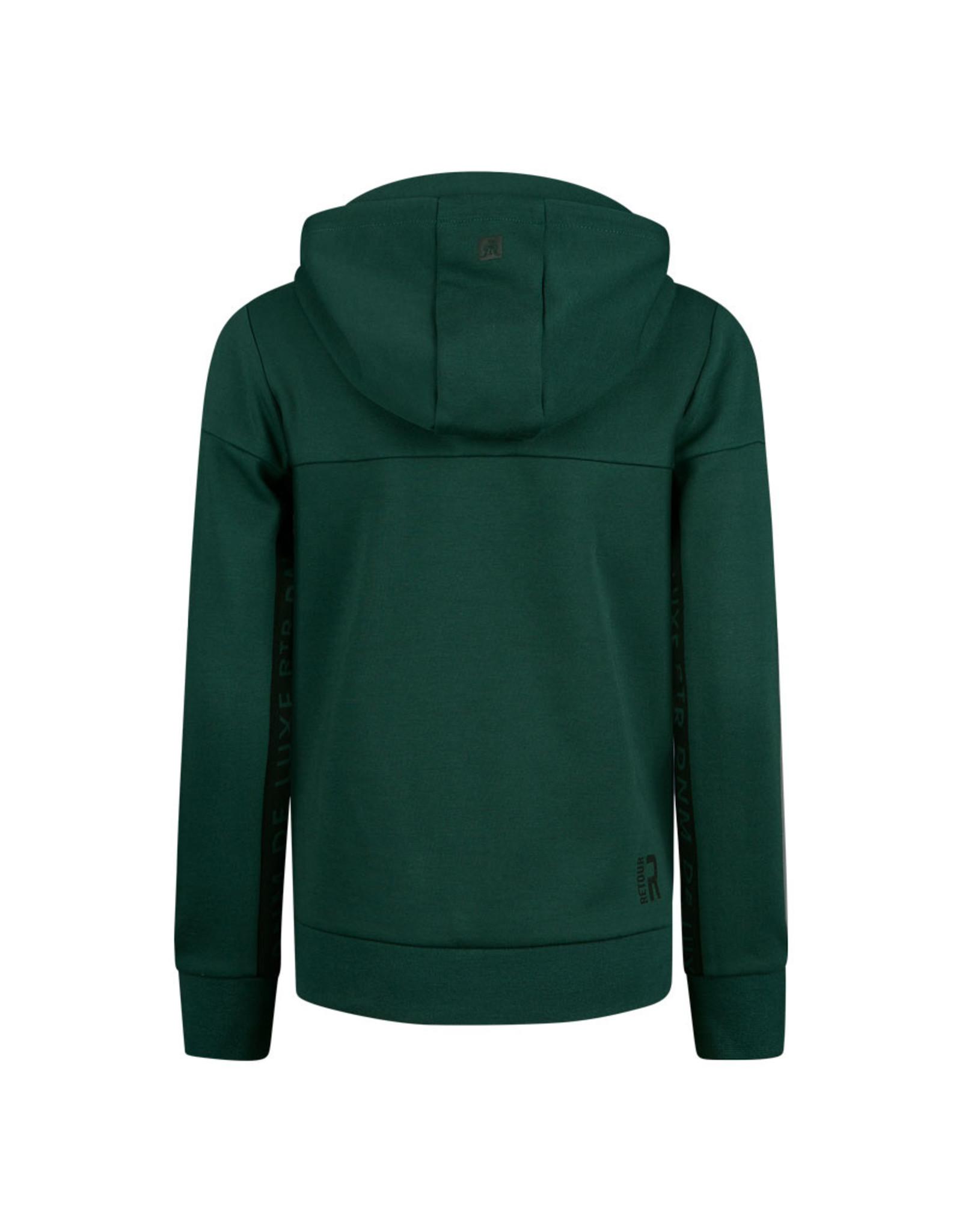Retour Jeans Sweat Chaz dark green