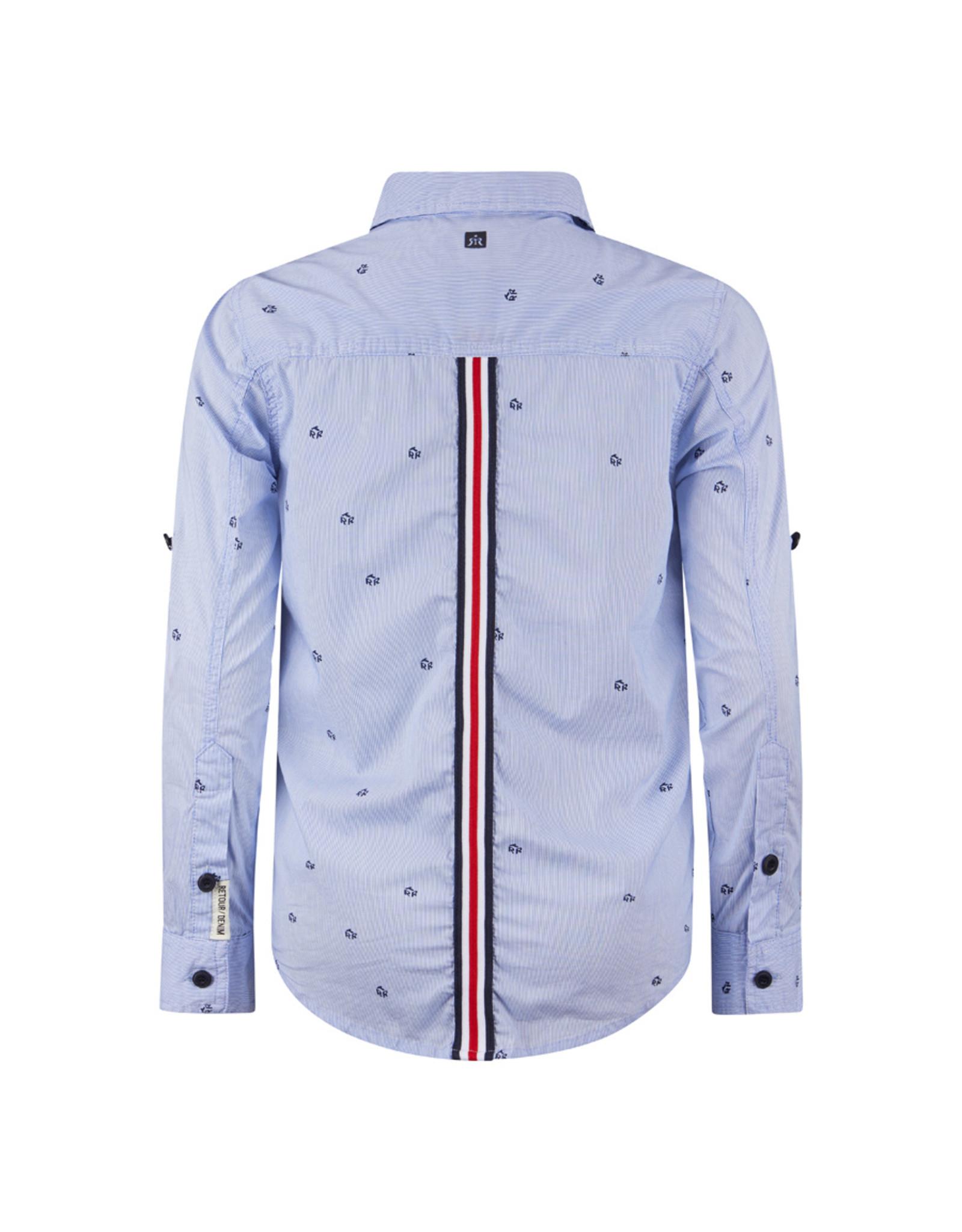 Retour Jeans Shirt Paulus Electric blue