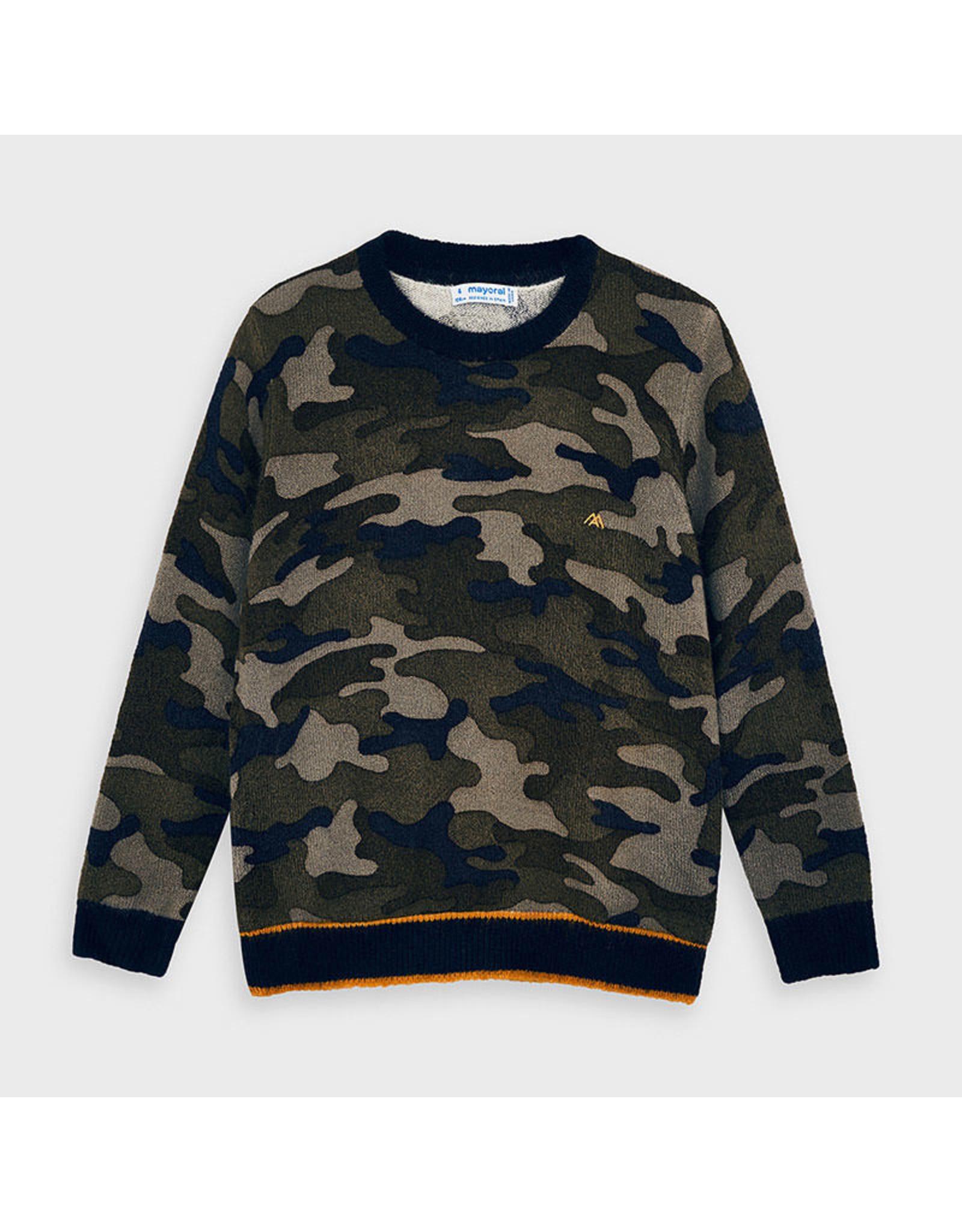 Mayoral Camuflage sweater Navy