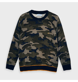 Mayoral Camuflage sweater Navy