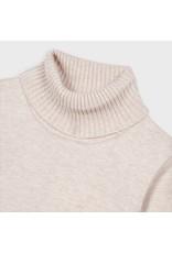 Mayoral Basic knitting turtleneck Sand