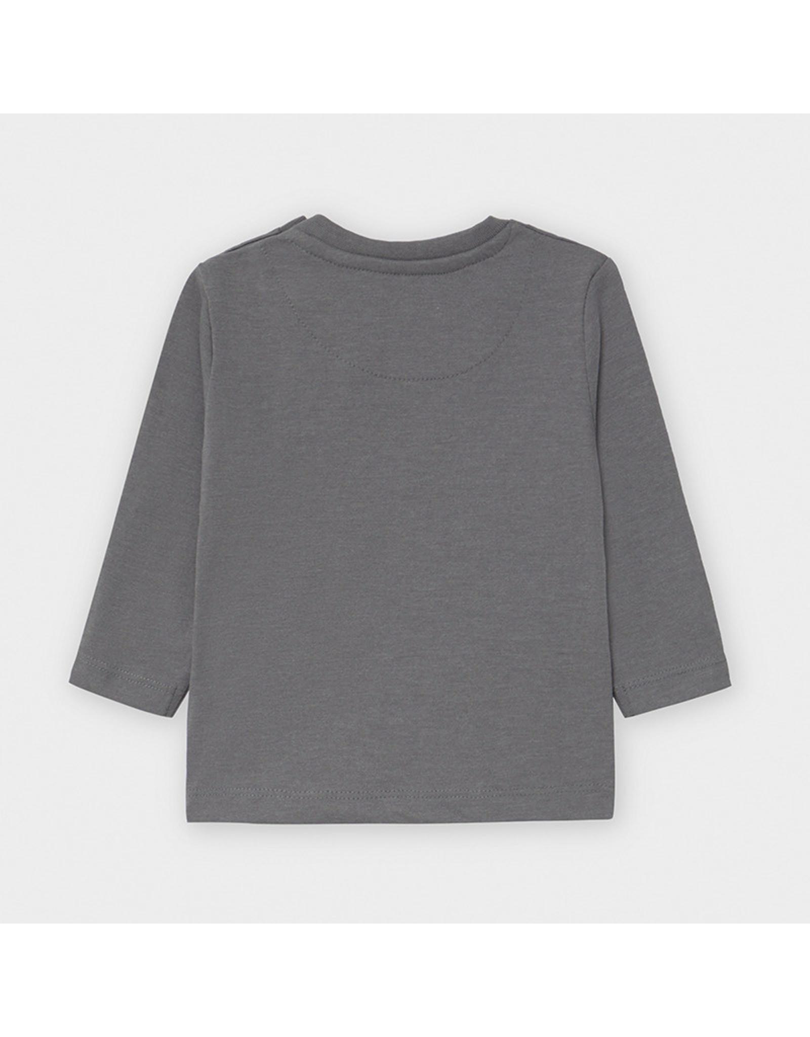Mayoral L/s basic t-shirt Brg Cement