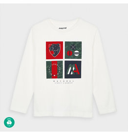 Mayoral L/s t-shirt Cream