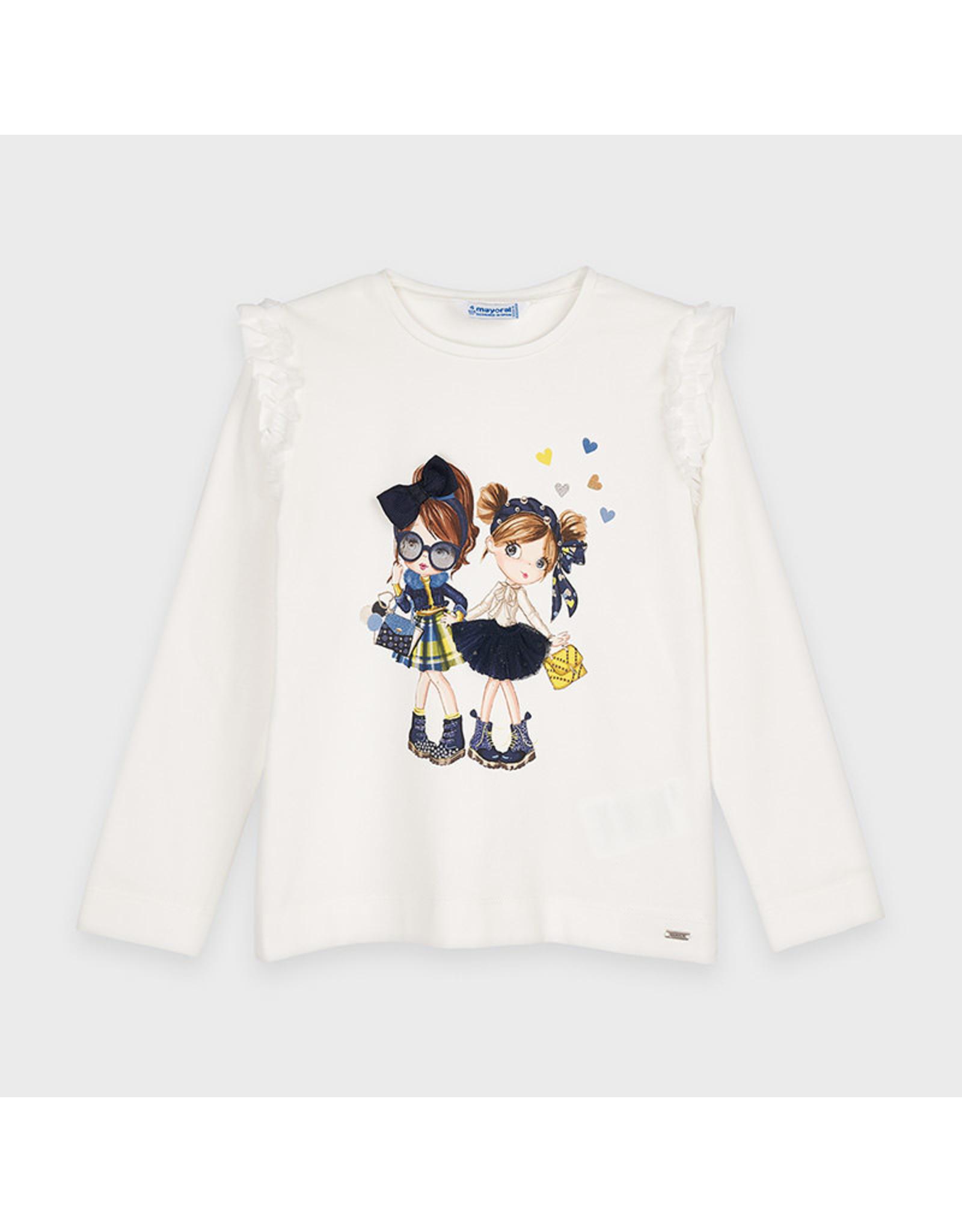 Mayoral L/s Doll shirt Navy